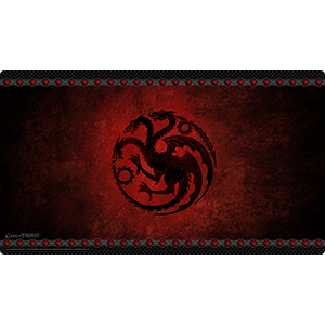 A Game of Thrones : The Card Game (Second Edition) – House Targaryen Playmat