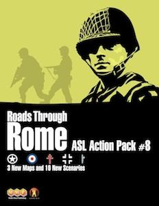 ASL : Action Pack 8 - Roads Through Rome