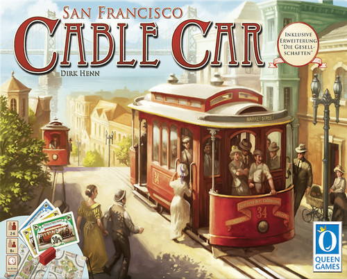 Cable Car Board Game Rules