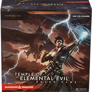 Dungeons & Dragons Board Game : Temple of Elemental Evil