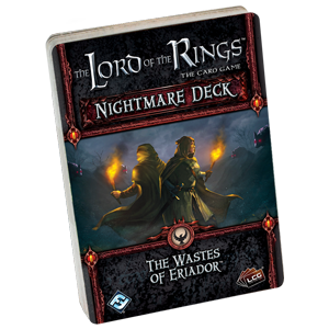 Lord of the Rings : The Card Game - Nightmare Decks - The wastes of Eriador