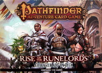 Pathfinder : Rise of the Runelords - Character Add-On Deck