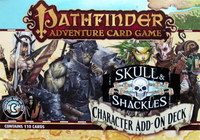 Pathfinder : Skull and Shackles - Character Add-on Deck