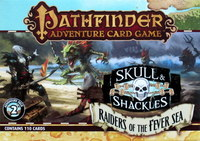 Pathfinder : Skull and Shackles - Deck 2 - Raiders of the Fever Sea