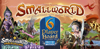 Smallworld : 6 Player Board