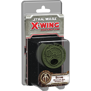 Star Wars X-Wing Miniatures : Scum Maneuver Dial Upgrade Kit