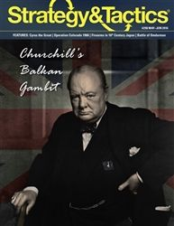 Strategy & Tactics #298 : Churchill's Balkan Gambit