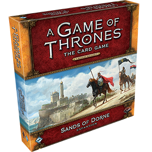 A Game of Thrones : The Card Game (Second Edition) – Sands of Dorne
