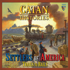 Catan Histories : Settlers of America - Trails to Riches