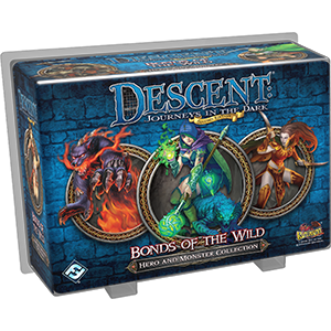 Descent : Journeys in the Dark (Second Edition) -  Hero and Monster Collection - Bonds of the Wild