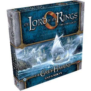 Lord of the Rings : The Card Game – Deluxe Expansion - The Grey Havens
