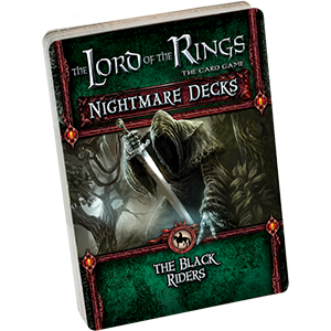 Lord of the Rings : The Card Game – Nightmare Decks - The Black Riders