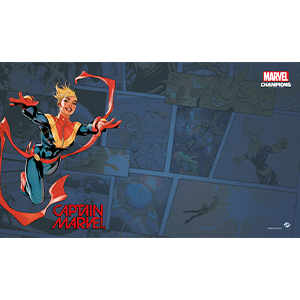 Marvel Champions: The Card Game - Captain Marvel Game Mat
