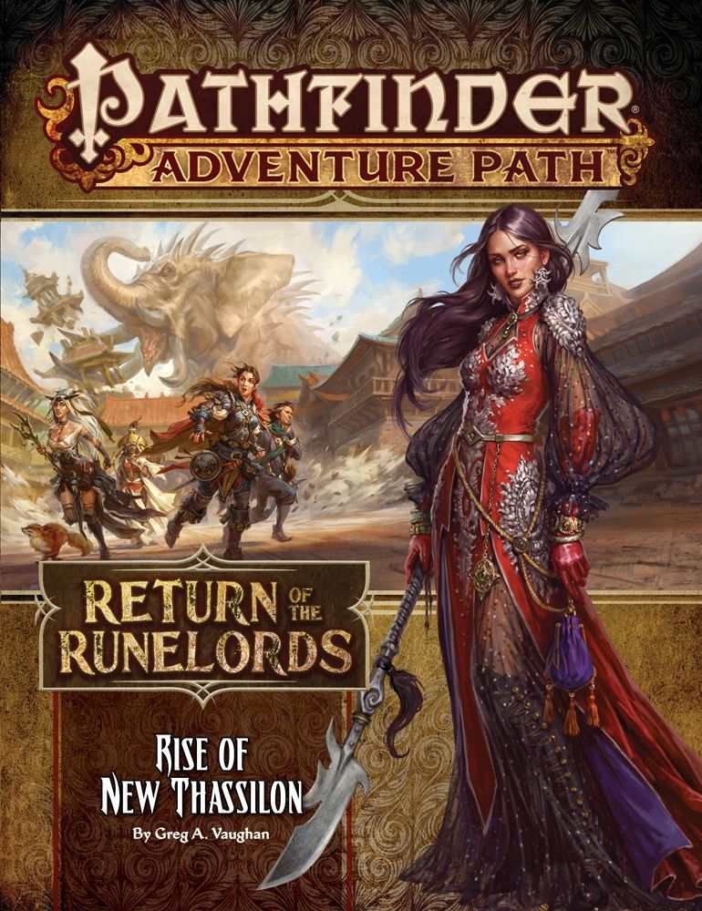Pathfinder RPG Adventure Path #138: Rise of New Thassilon (Return of the  Runelords 6 of 6)