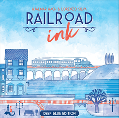 Railroad Ink: Deep Blue