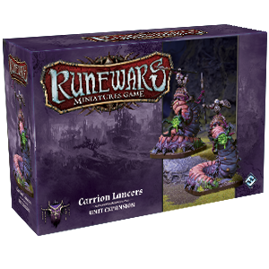 Runewars Miniatures Game : Carrion Lancers Unit Expansion Pack