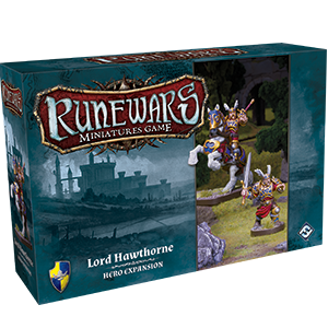 Runewars Miniatures Game: Lord Hawthorne Hero Expansion Pack