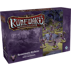 Runewars Miniatures Game: Reanimate Archers Unit Expansion