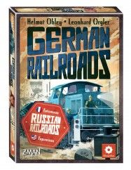 Russian Railroads : German Railroads