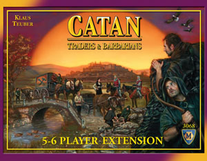 Settlers of Catan : Traders and Barbarians - 5 - 6 Players Expansion