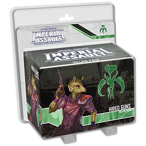 Star Wars: Imperial Assault - Hired Guns Villain Pack