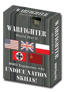 Warfighter WWII Expansion 41: Unique Nation Skills